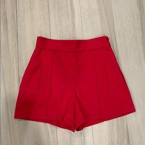 High wasted Zara shorts